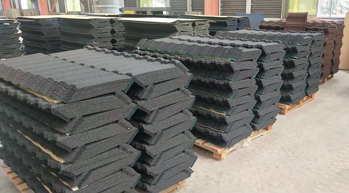 Stone coated steel roofing tileXuzhou Jia Li Duo Import and Export Co., Ltd.